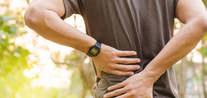 bulging schiena