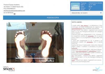 Report TipoPodoscopia