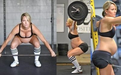 L'allenamento in gravidanza.