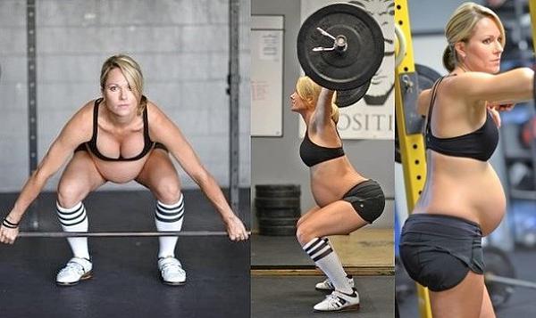 allenamento gravidanza fisiosan